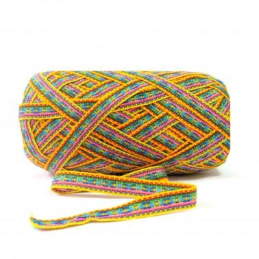 White Stripe Peru Fabric