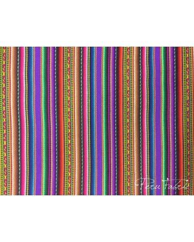 2 Orange Chinchero Peruvian Blanket
